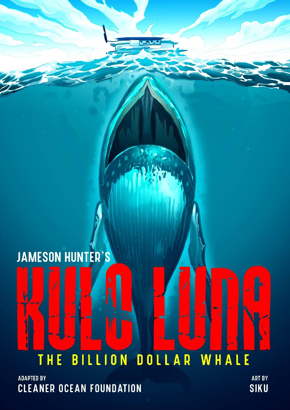 Kulo Luna graphic novel cover